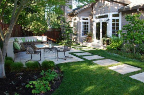Новые идеи для проекта озеленения заднего двора